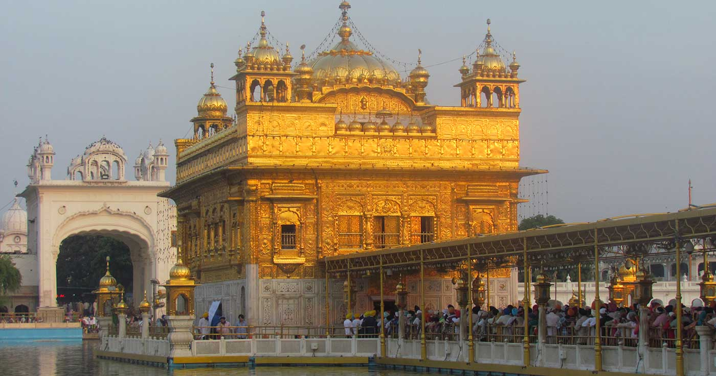 goa green » finding peace at the golden temple
